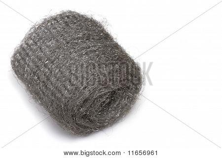 Wire wool roll