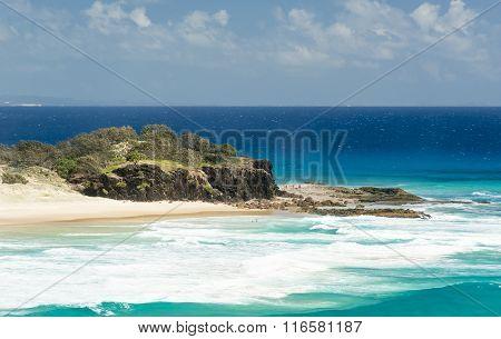 Frenchmans Beach Stradbroke Island