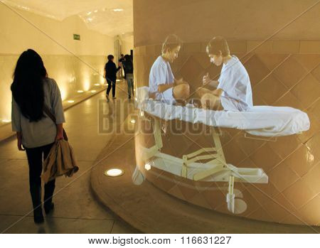 Hospital de Sant Pau children hologram