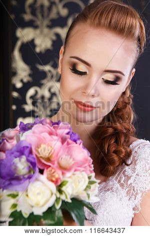 Bride With Professional Make Up