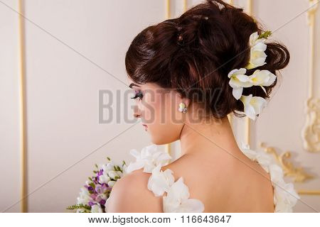 Hairstyle With Accessories