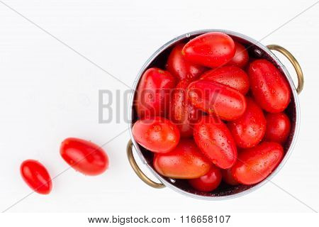 Washed Garden Ripe Grape Tomatoes