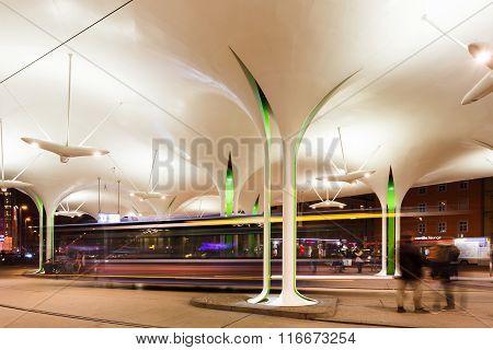 Modern Station In Munich