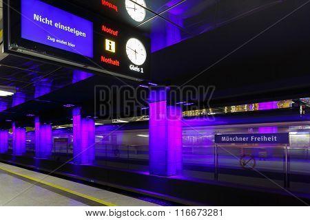 The Munich Subway