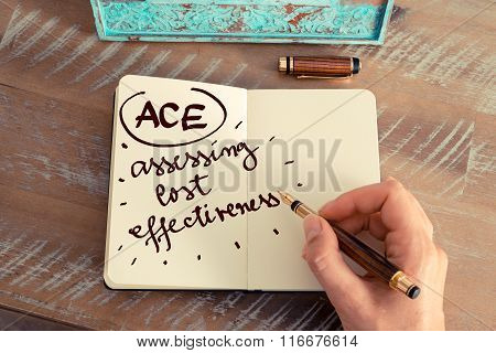 Acronym Ace Assessing Cost Effectiveness