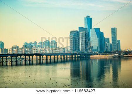 Citiscape At Seoul South Korea