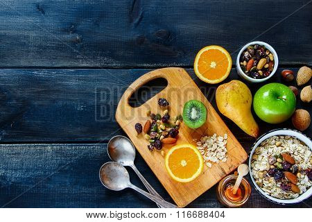 Table With Healthy Breakfast