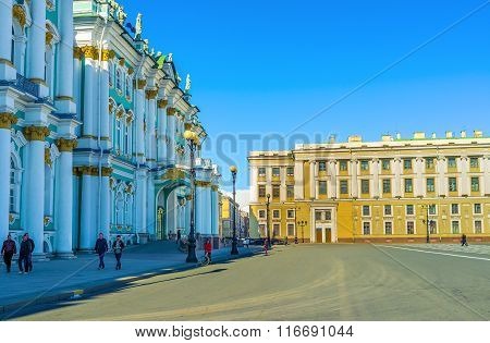 The Balcony Of The Winter Palace