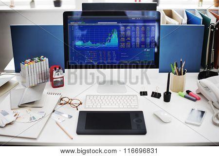 Stock Market Exchange Financial Economic Trading Concept