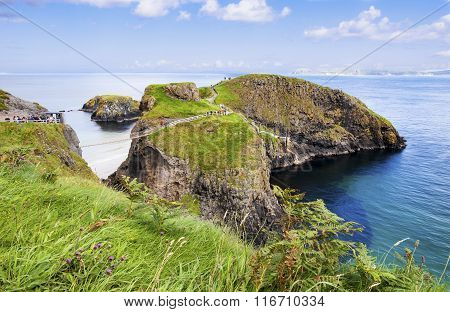 Carrickarade Rope Bridge, Northern Ireland