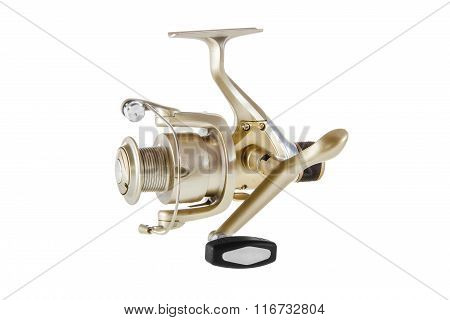 Isolated Object On A White Background Fishing Reelf