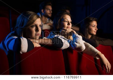 Teenagers At The Cinema