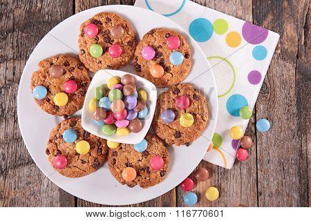 cookies and smarties