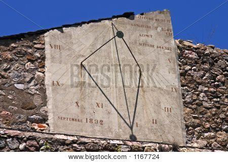 Villefranche Sundial