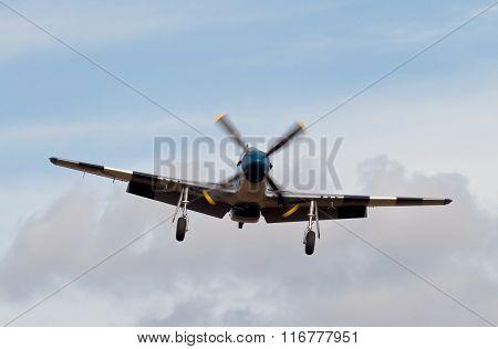Mustang landing