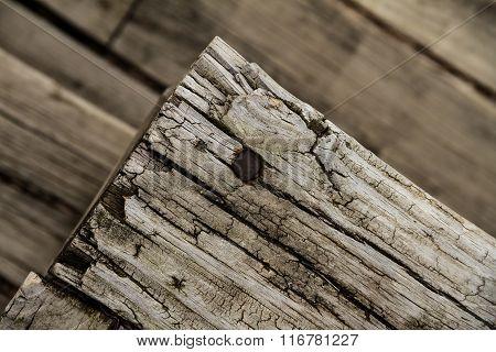 Old Wood Slab