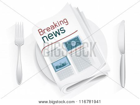 breaking news tablewares