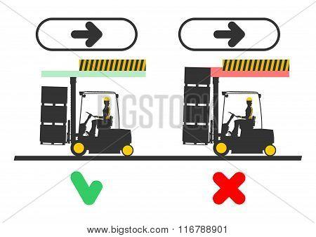 Forklift dangers