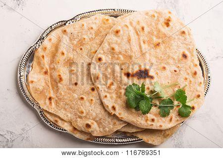 Homemade Chapati (indian Bread)