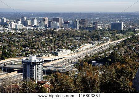 San Diego Freeway Los Angeles