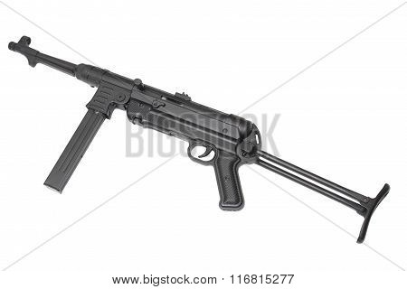 German machine gun. Usually used by Wehrmacht squad leader or machine gun company supporting tank attacks.