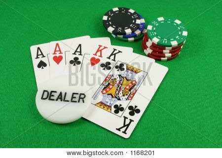 Full House With A Dealer Chip On Top