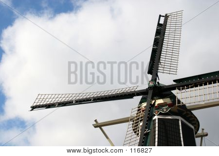 Windmill In Haarlem, Holland