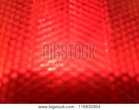 Red hexagonal