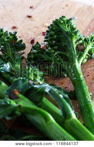 Fresh Steamed Broccolini