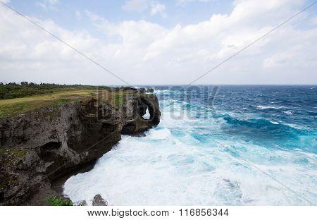 Manza Cape in okinawa