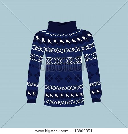 Winter Warm Sweater Handmade, Svitshot, Jumper