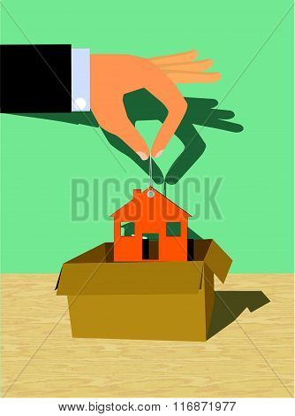 Housing Package Vector Illustration