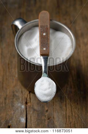 Spoonful Of Sodium Bicarbonate