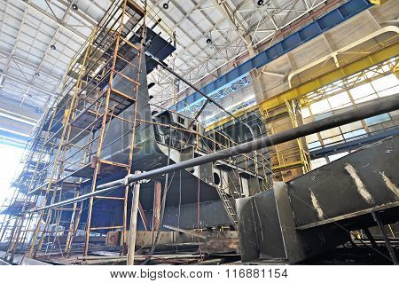 Ship Building And Scaffolding