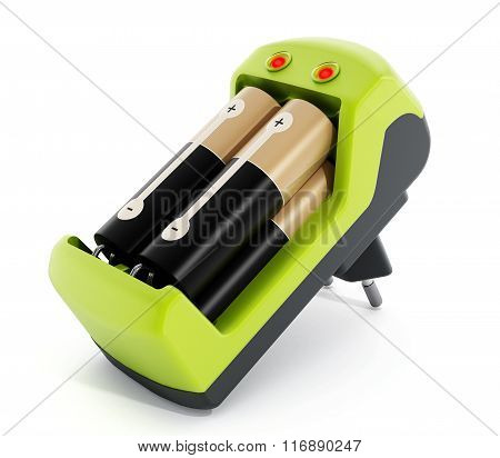 Green Battery Charger