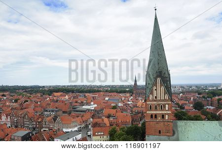 Hanseatic Topwn Luneburg, Germany