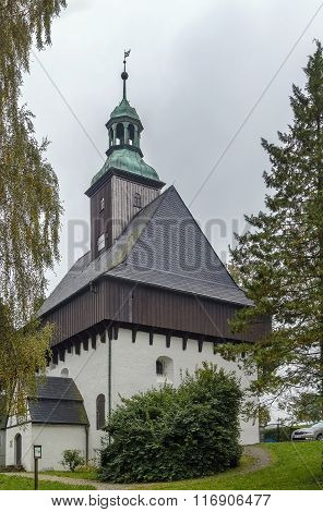 Battlement Church,marienberg, Germany