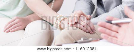 Pair  Overcoming Marital Crisis