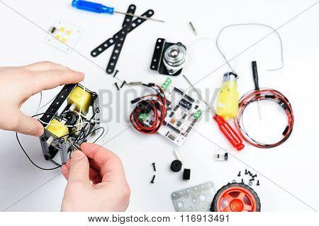Assemble Robot Body