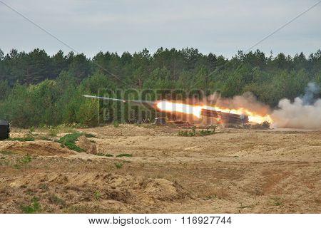 Bm-27 Uragan Missile Launcher