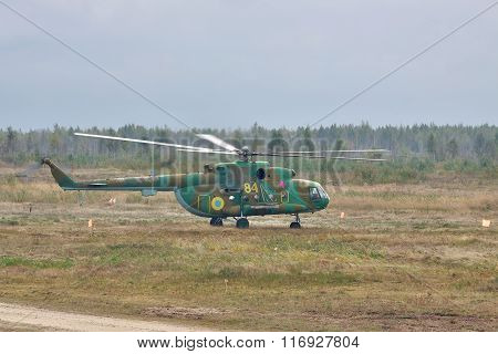 Army Transport Helicopter Mil Mi-8