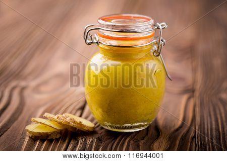 Natural diy chickpeas ginger paste