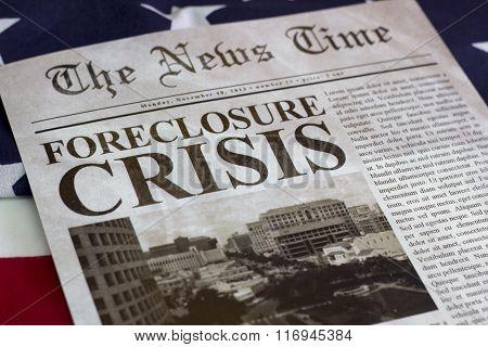 Foreclosure Crisis Headline