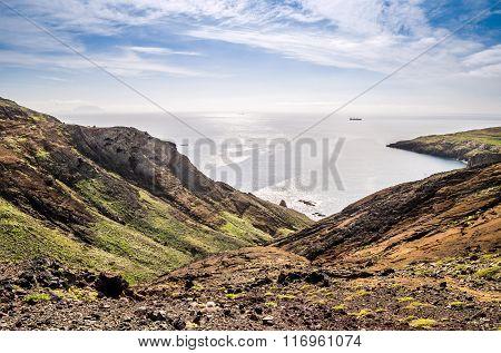 Beautiful Views On Trail To Ponto Do Sao Lourenco, Madeira