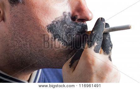 The harm of smoking. Quit Smoking Now