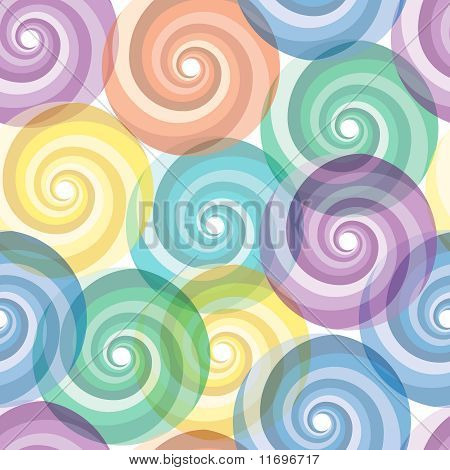 Light vivid colorful repeating abstract seamless background poster