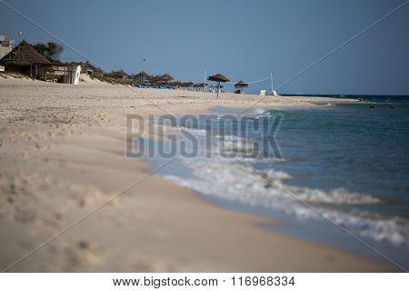 Beach in Tunisia