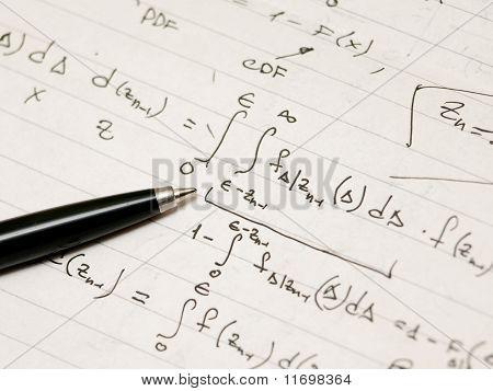 Derivation Of An Advanced Mathematical Formula. Derivation Of An Advanced Mathematical Formula.