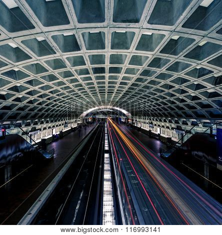 Washington Dc Metro Station