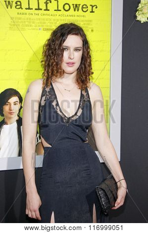 Rumer Willis at the Los Angeles premiere of 'The Perks Of Being A Wallflower' held at the ArcLight Cinemas in Hollywood, USA on September 10, 2012.